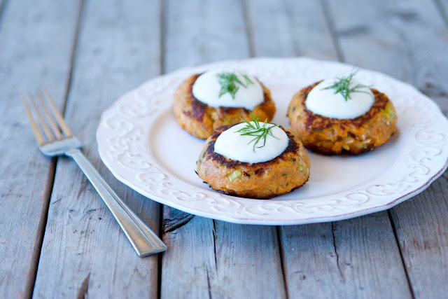 Sweet Potato & Apple Cakes