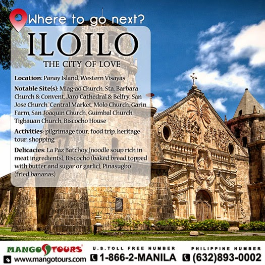 Where to go next Iloilo Philippines Mango Tours