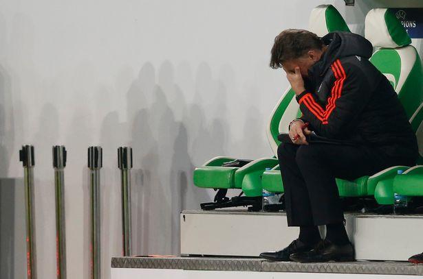 Criticised: Van Gaal has been under fire