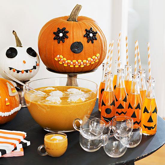 DIY Decoraç u00e3o Ideias para festas de Halloween # Decoração De Festas De Halloween