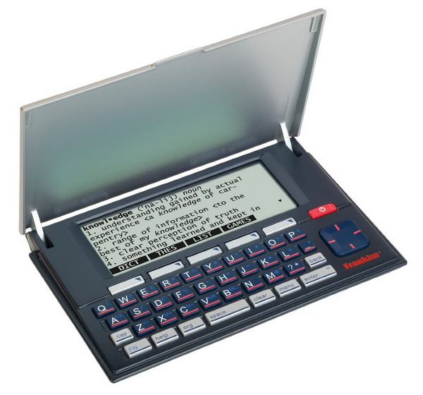 Franklin Merriam Webster Advanced Dictionary and Thesaurus With Spell Correction (MWD-1500).