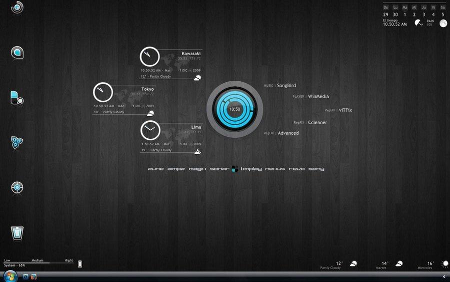 Realitas Beautify Your Desktop Pc Display With Rainmeter