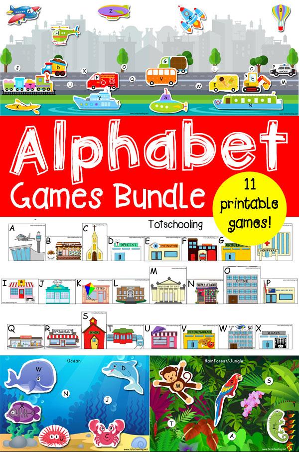 Alphabet Games Bundle
