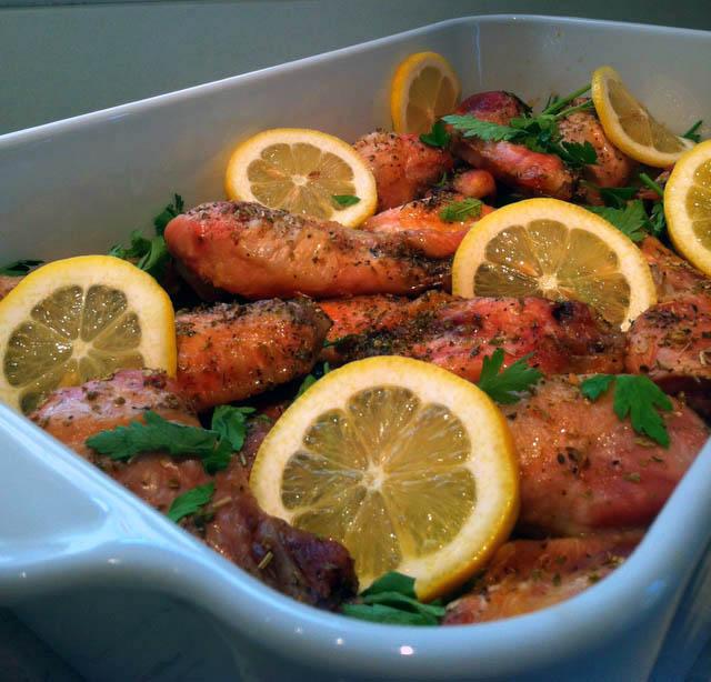 Jilly...Inspired : Roasted Chicken ~ Lemon, Oregano and Aleppo Pepper