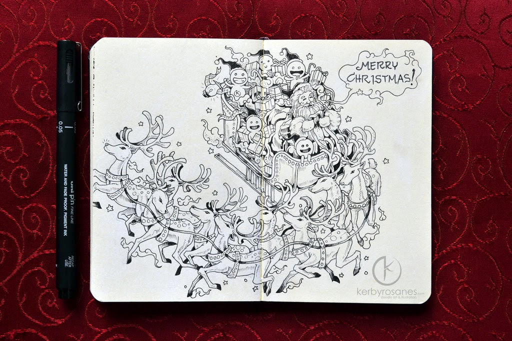 15-Happy-Holidays-Everyone-Sketchy-Stories- Kerby-Rosanes-www-designstack-co