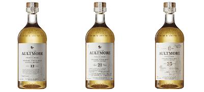 Aultmore whisky range