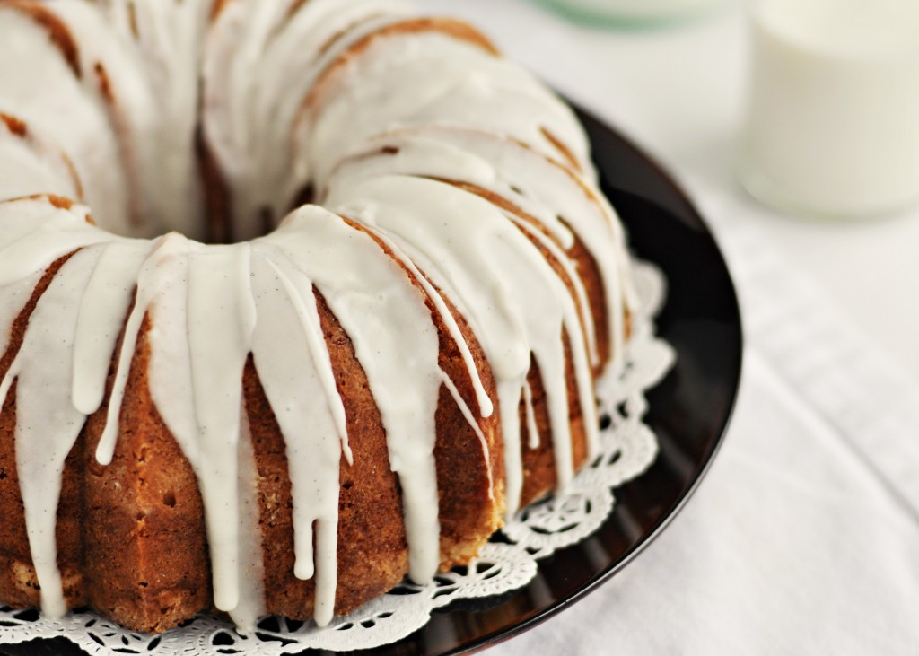 Vanilla Glaze For Chocolate Bundt Cake