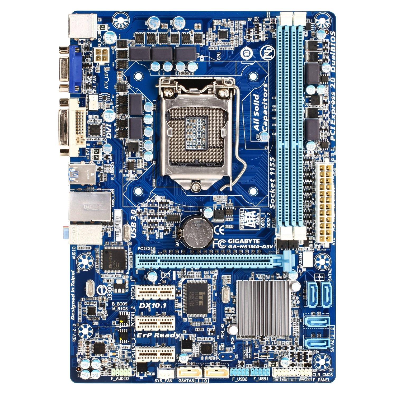 Gigabyte GA H61MMA D3V September 2012 Gaming PC Build