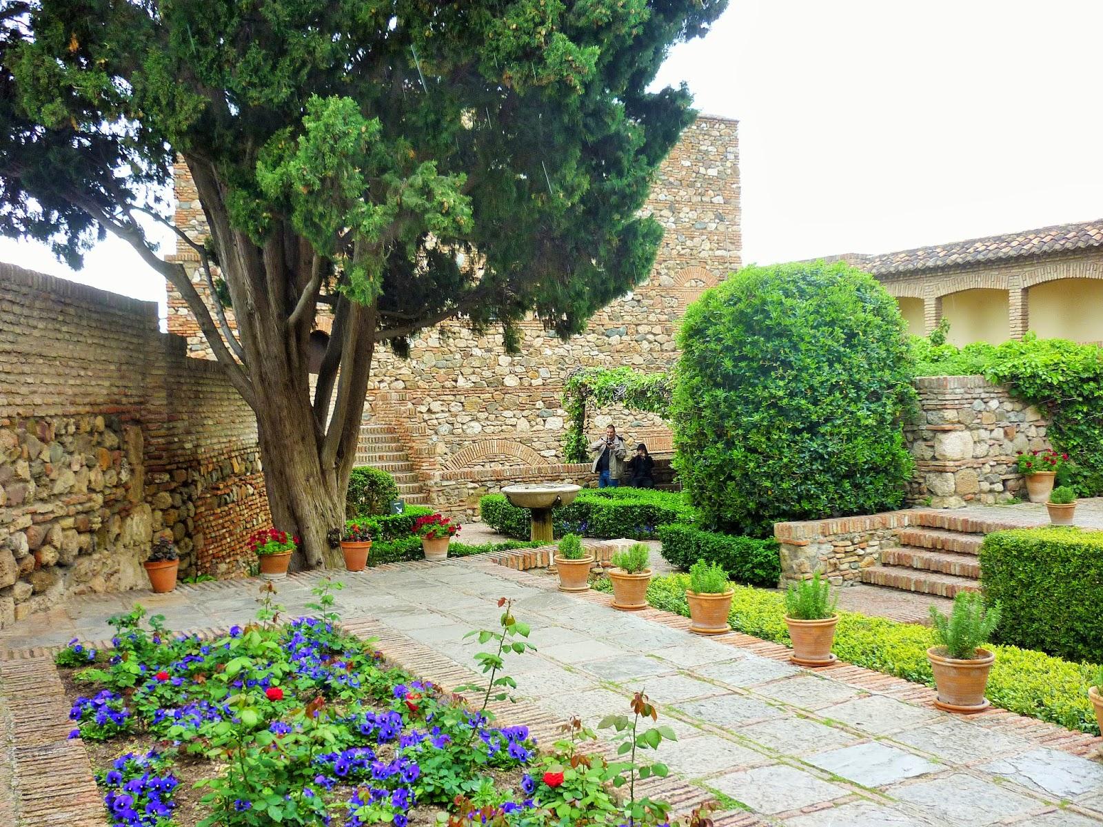 Malaga - Espagne - Alcazaba