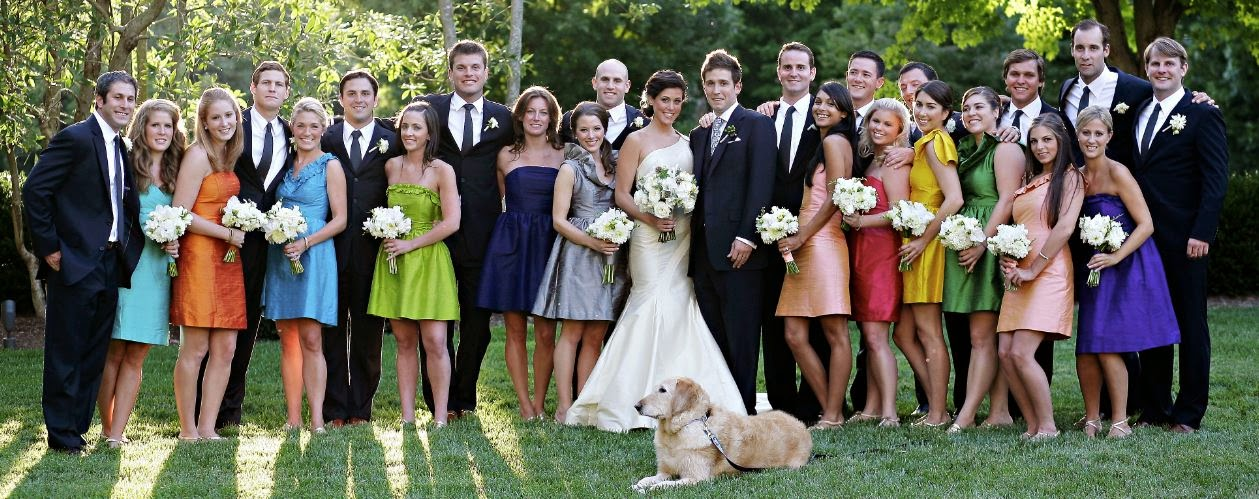Couples Who Decide To Have A Large Wedding Party Need In Place The Order They Want Their Bridesmaids And Groomsmen Walk Down Aisle