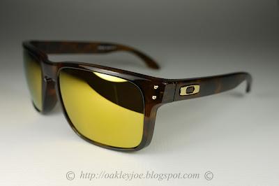 8826f729ce Oakley Holbrook Brown Tortoise 24k Gold Iridium « Heritage Malta