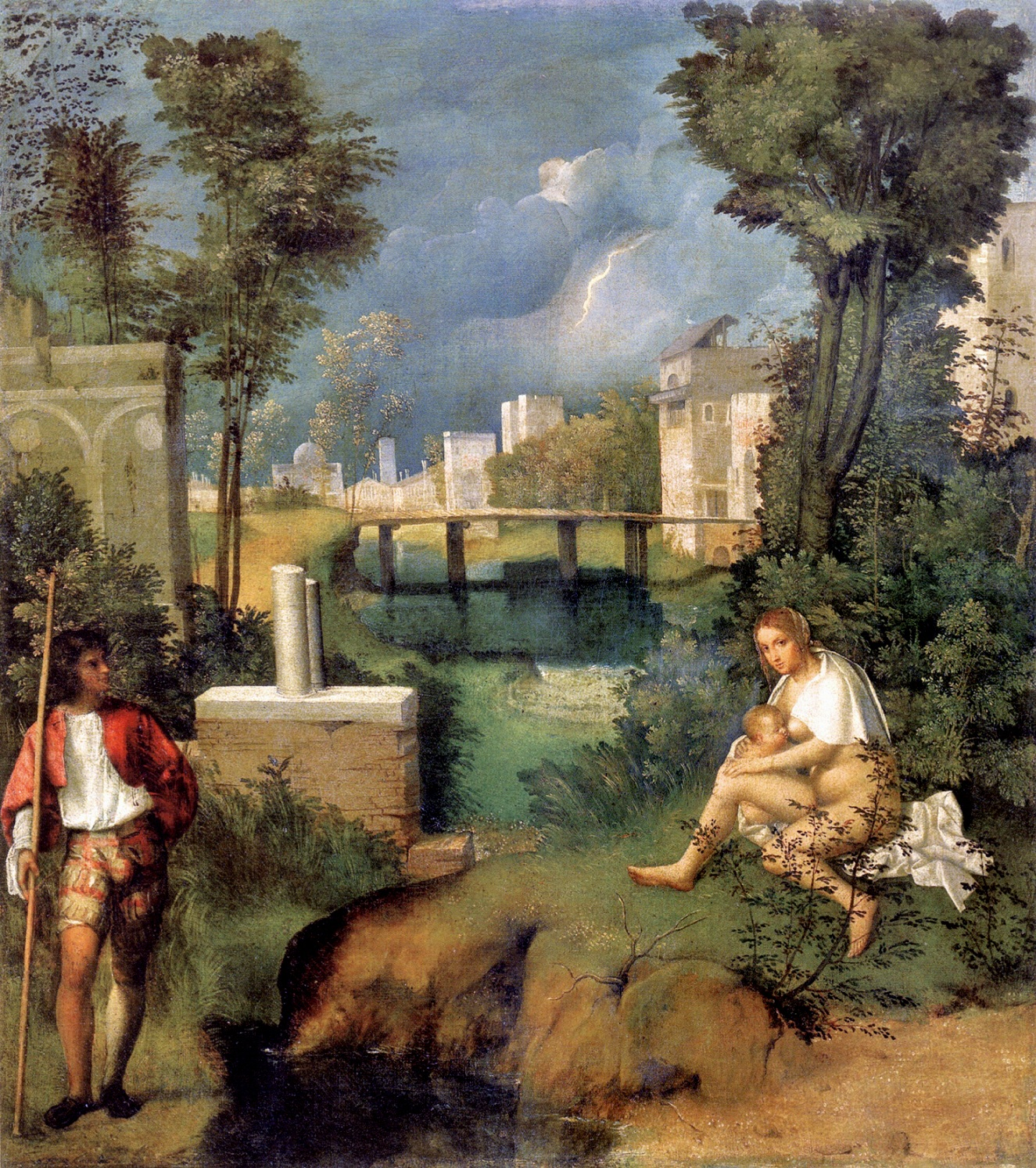 giorgione the tempest By josie brown 5/22/16 the tempest was painted by giorgione of casrelfraneo for venetian nobleman gabriele vendramin around the year 1503.
