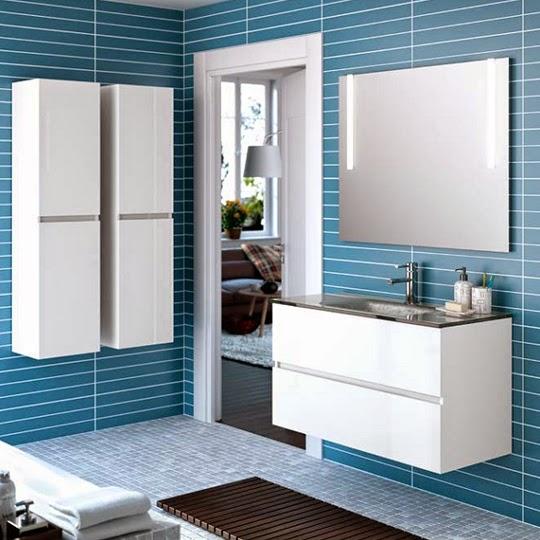 Muebles de ba o dos lavabos for Mueble bano dos lavabos baratos