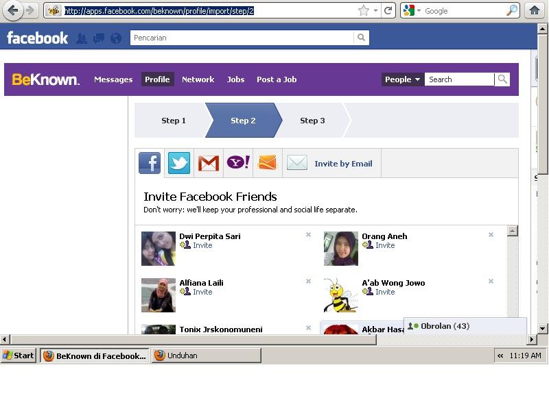 Cari lowongan Kerja Di Facebook | Informasi Terbaru 2011 ...