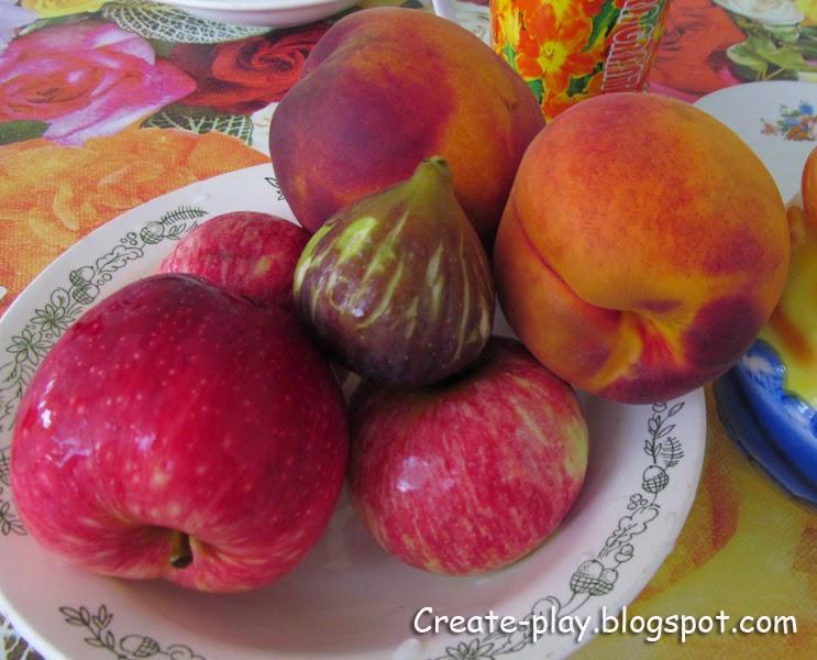 Нижняя Эшера фрукты