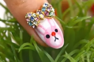 cut bunny nail tutorial