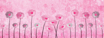 Pink Flowers Facebook Timeline Cover