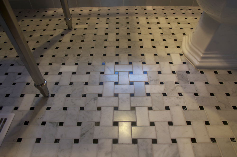 Busier Tile Pattern Like This Marble Basket Weave