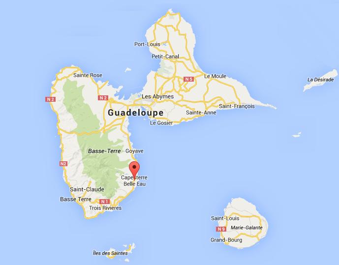 Capesterre Belle eau Guadeloupe