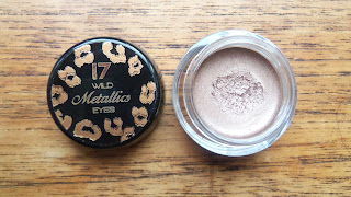 17 wild Metallics Eyes cream eyeshadow in Wild Nude