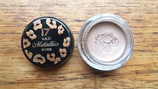 17 wild Metallics Eyes cream eyeshadow in Wild Nude