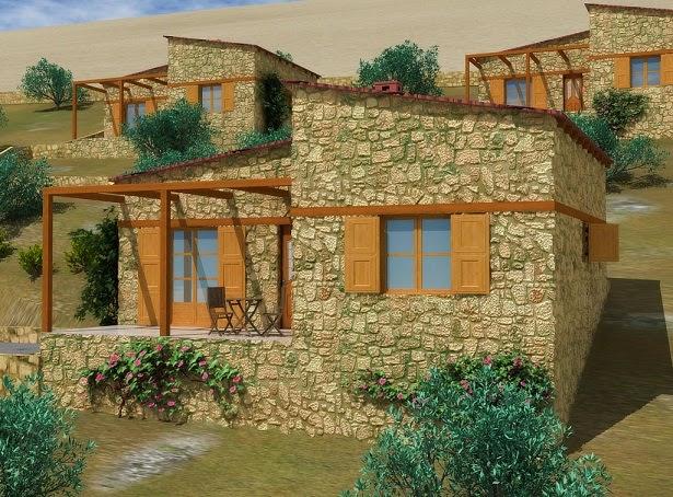 Fachadas de piedra fachadas de casas con piedra decorativa - Piedras para fachadas de casas ...