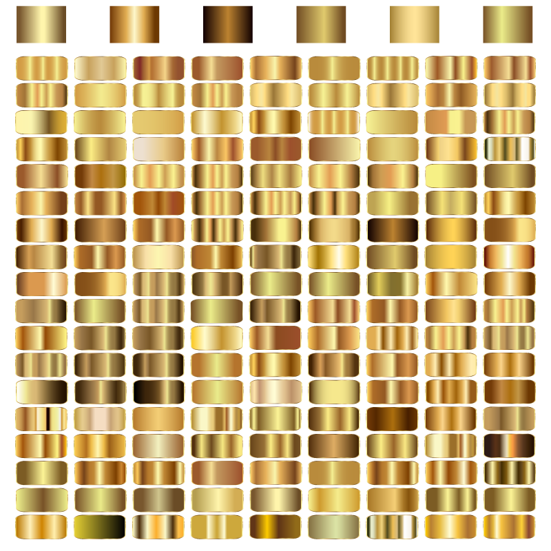 Gold Gradient Vector Vector Gold Gradient