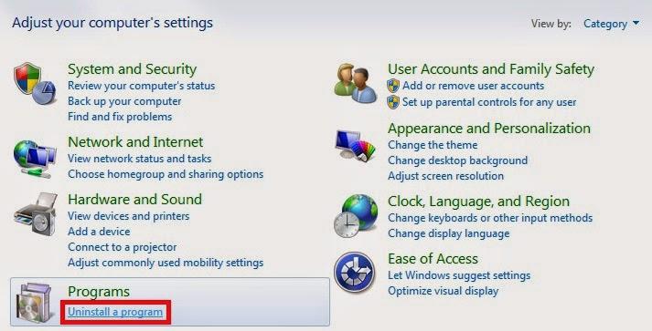 uninstall+program - Cara Uninstall Kegiatan Di Windows 7