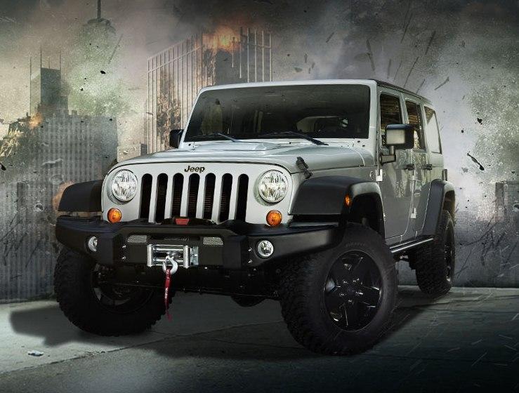 Dixie Motor Company 2012 Jeep Wrangler Call Of Duty Mw3 Edition
