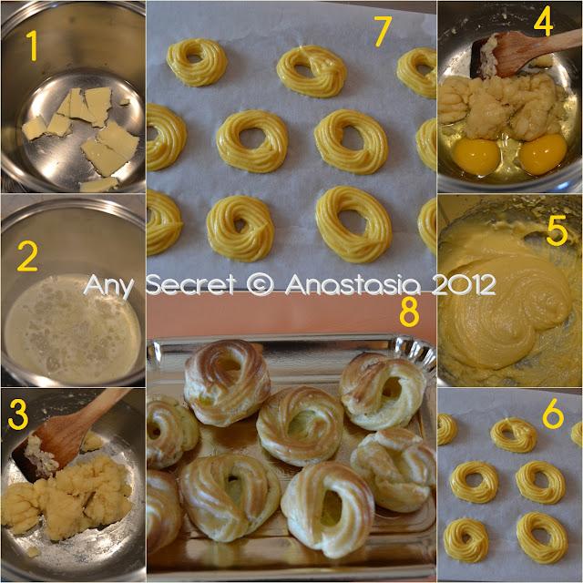 la pasta choux o pasta per bignè