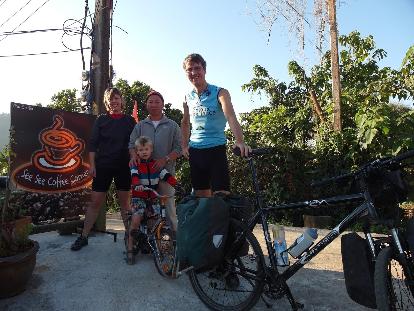 Thailand op fietse: december 2012