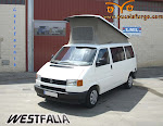 VW T4 CALIFORNIA   WESTFALIA , 2.4 D.  AÑO 1992, 78 CV,