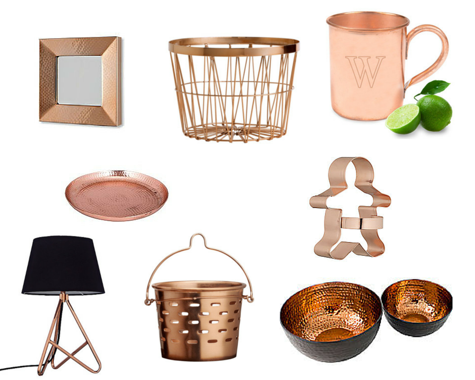 Currently Loving - Copper Homewares