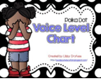 http://www.teacherspayteachers.com/Product/Voice-Level-Chart-Bright-Polka-Dot-1222197