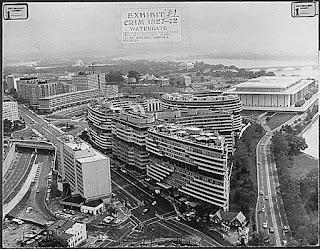 Complejo Watergate en Washington, D. C. a inicios de 1970