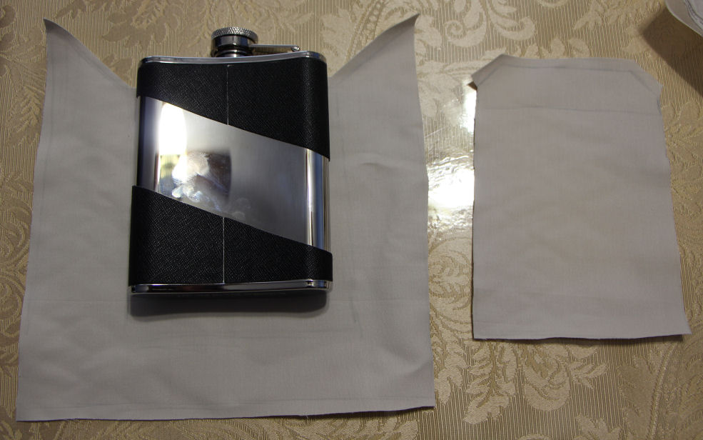 Flask pocket and mini-pocket