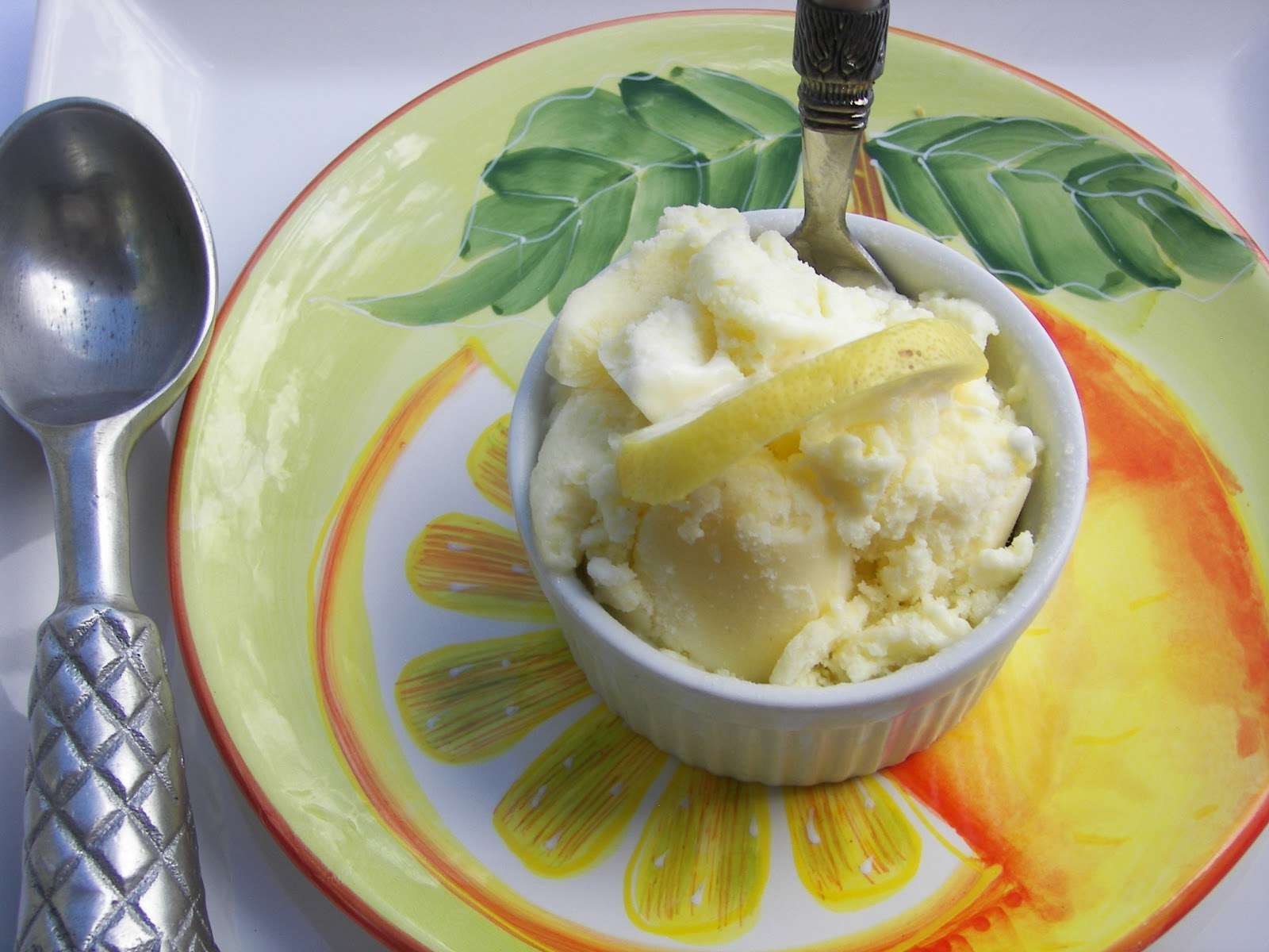 Red Couch Recipes: Scrumptious Lemon Lime Gelato