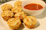 Pepperoni Pizza Puffs 3/4 cup flour 3/4 tsp baking powder
