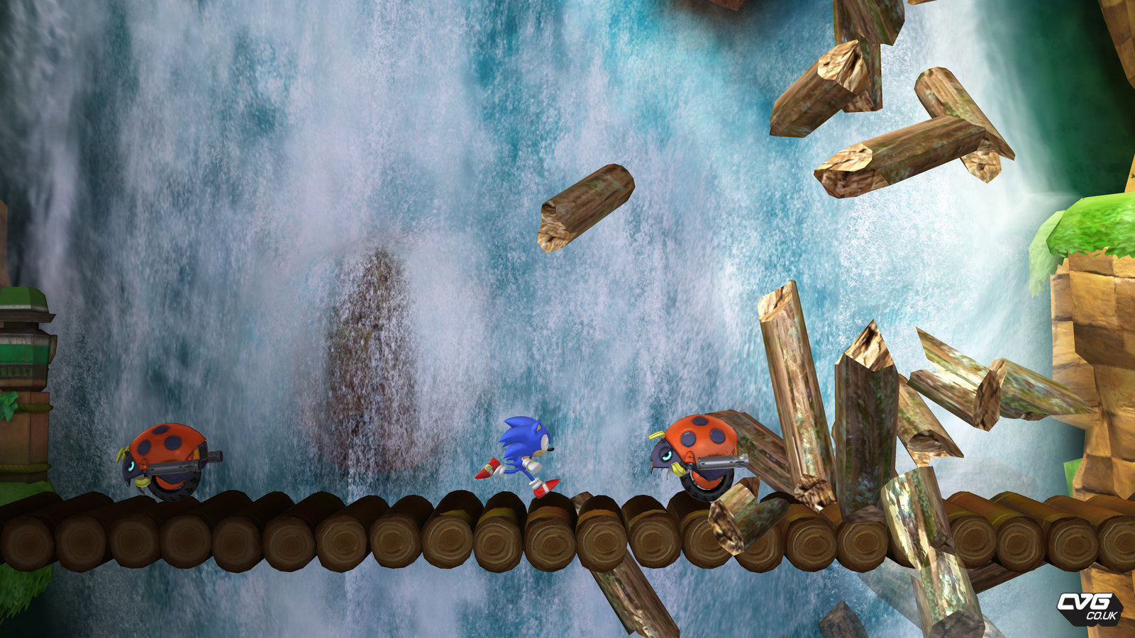 Sonic Generations Game Screenshots