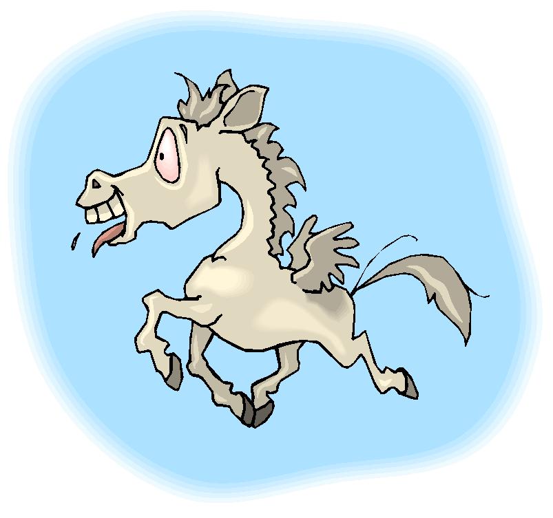 Funny Pegasus Free Clipart