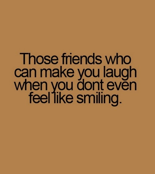 Funny Friendship Quotes To Make You Laugh : Laughter And Friendship Quotes