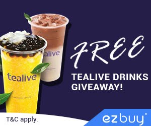 Tealive For FREE
