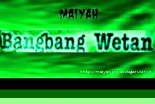 Maiyah Bangbang Wetan