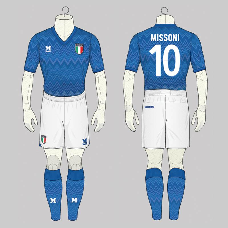 Italy missoni concept kits by angelo trofa footy headlines for Italian kit