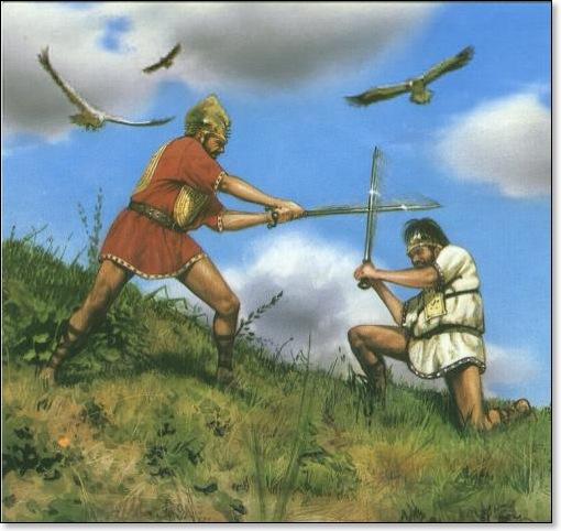 Romulus membunuh remus