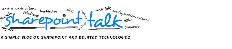 SharePoint Talk