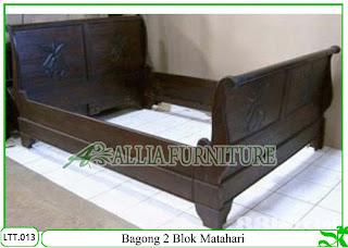 Tempat Tidur Klender Bagong 2 Blok
