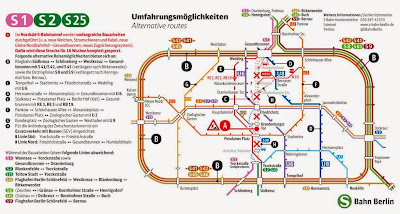 S-Bahn + U-Bahn: Stadtbild Her mit den Baustellen!, aus Berliner Zeitung