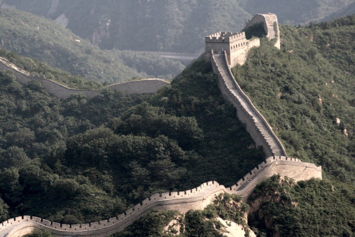 World visits the great wall of china seven wonder in for Great pictures of the world