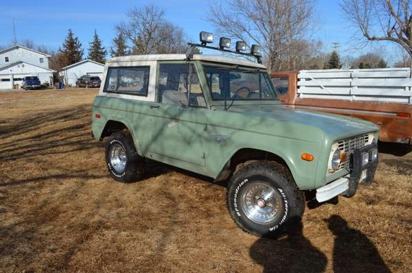 1972 Ford Bronco Ready for Restoration | Auto Restorationice